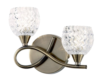 new style 95485 37f66 Double Wall Lights from Easy Lighting