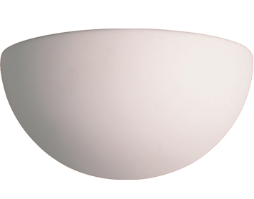 Firstlight Ceramic Wall Light, Unglazed Finish - C300UN