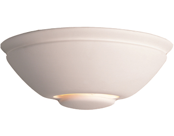 Firstlight Ceramic Wall Light, Unglazed - C307UN