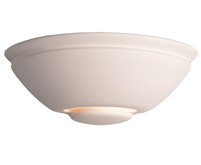 Unglazed Ceramic Wall Lights : Firstlight Ceramic Wall Light, Unglazed - C307UN from Easy Lighting