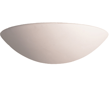 Firstlight Ceramic Wall Light, Unglazed Finish - C314UN