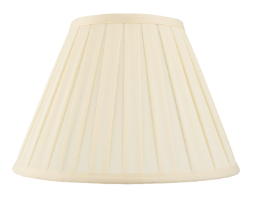Endon Carla Empire Shade (150mm), Cream Cotton Mix Finish - CARLA-6
