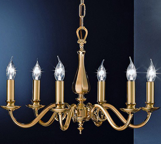 Brass Finish Ceiling Lights : Franklite cantabria satin polished brass finish light