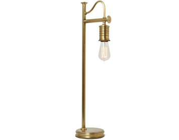 Elstead Douille Table Lamp, Aged Brass Finish - DOUILLE/TL AB