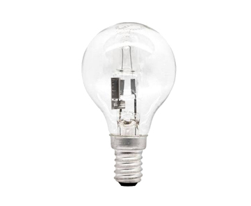 28W (40W EQ') SES HALOGEN GLS ECO GOLF BALL LIGHT BULB - LYV3916 Clearance