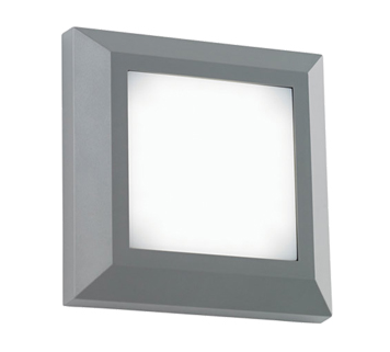 Led outdoor wall lights from easy lighting endon severus ip65 led square outdoor wall light grey abs plastic frosted aloadofball Choice Image