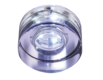 Endon LED IP65 Recessed Downlight With Lical Crystal Glass