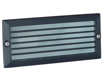 Endon Low Ip44 Energy Outdoor Recessed Brick Light Black El Yg 7004