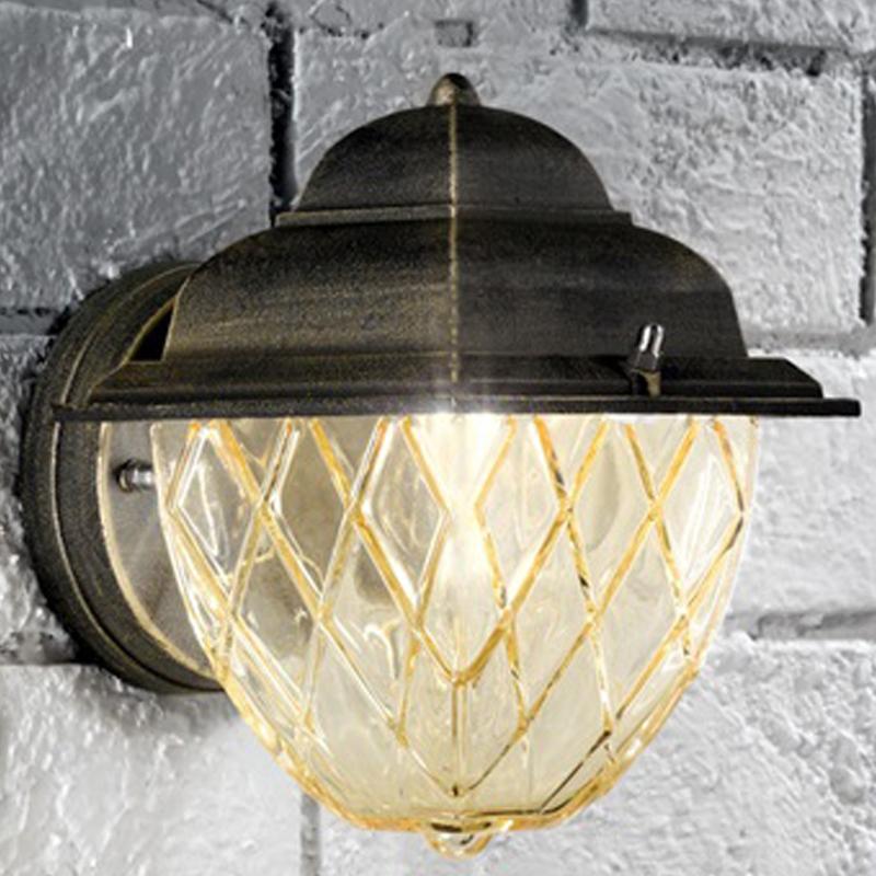Quoizel Bedford Outdoor Pedestal Light Mystic Black: Black Outdoor Wall Lights From Easy Lighting