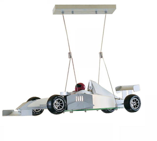 Searchlight Novelty 1 Light Racing Car Ceiling Light