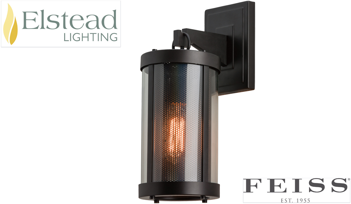 Feiss Canterbury 3 Light Vanity Fixture Oil Rubbed Bronze: Elstead Feiss 'Bluffton' 1 Light Wall Light, Oil Rubbed