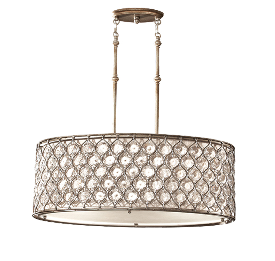 Elstead feiss lucia 3 light shade pendant with cream fabric elstead feiss lucia 3 light shade pendant with cream fabric burnished silver feluciapa aloadofball Gallery