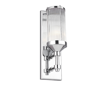Elstead Feiss Paulson 1 Light Wall Light, Polished Chrome Finish - FE/PAULSON1