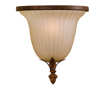 Elstead Feiss Sonoma Valley 1 Light Wall Light, Aged Tortoise Shell - FE/SONOMAVAL/WU