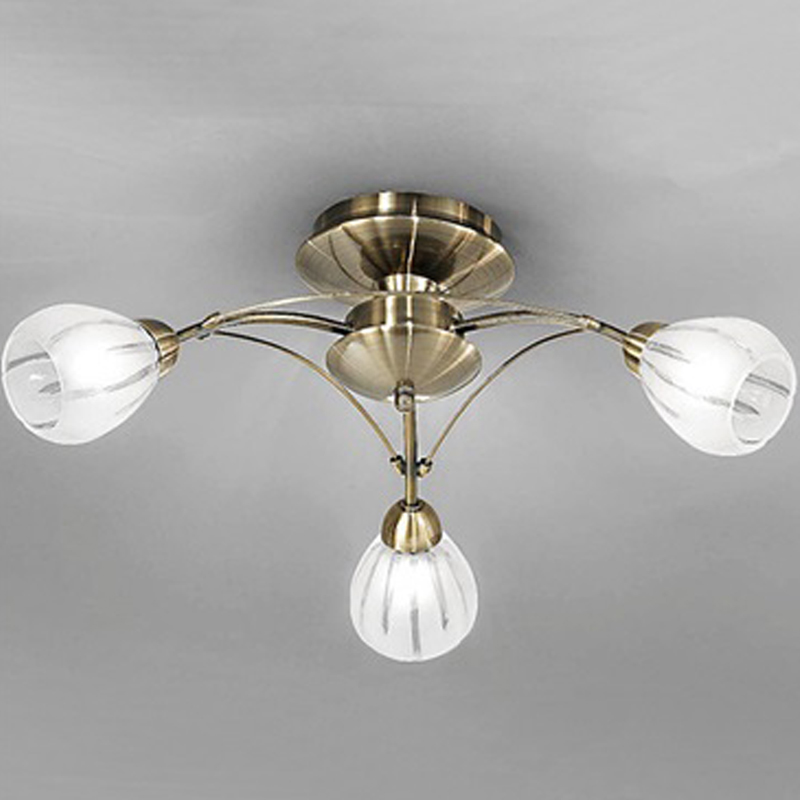 Searchlight Electric Sculptured Ice 8083 3cc Ceiling Light: 2 And 3 Light Semi Flush Ceiling Lights From Easy Lighting