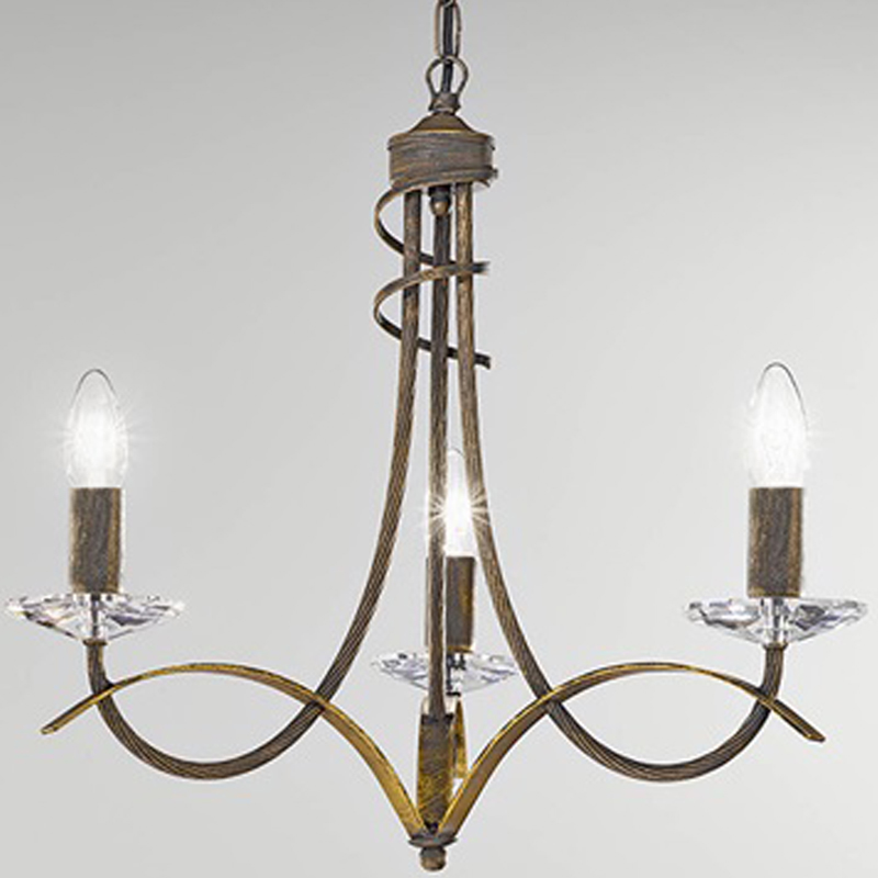 Franklite Fusion Antique Gold Finish Twin Wall Light FL2232 2 From Easy Lig