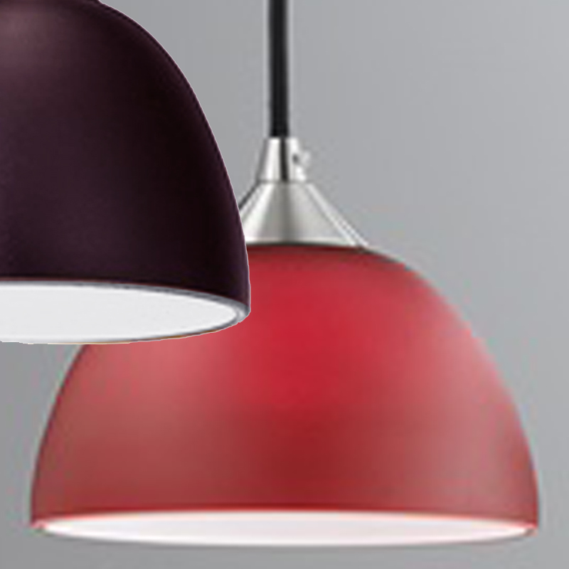 Franklite Vetross 1 Light Ceiling Pendant Red/White - SALE-FL2290/1/933