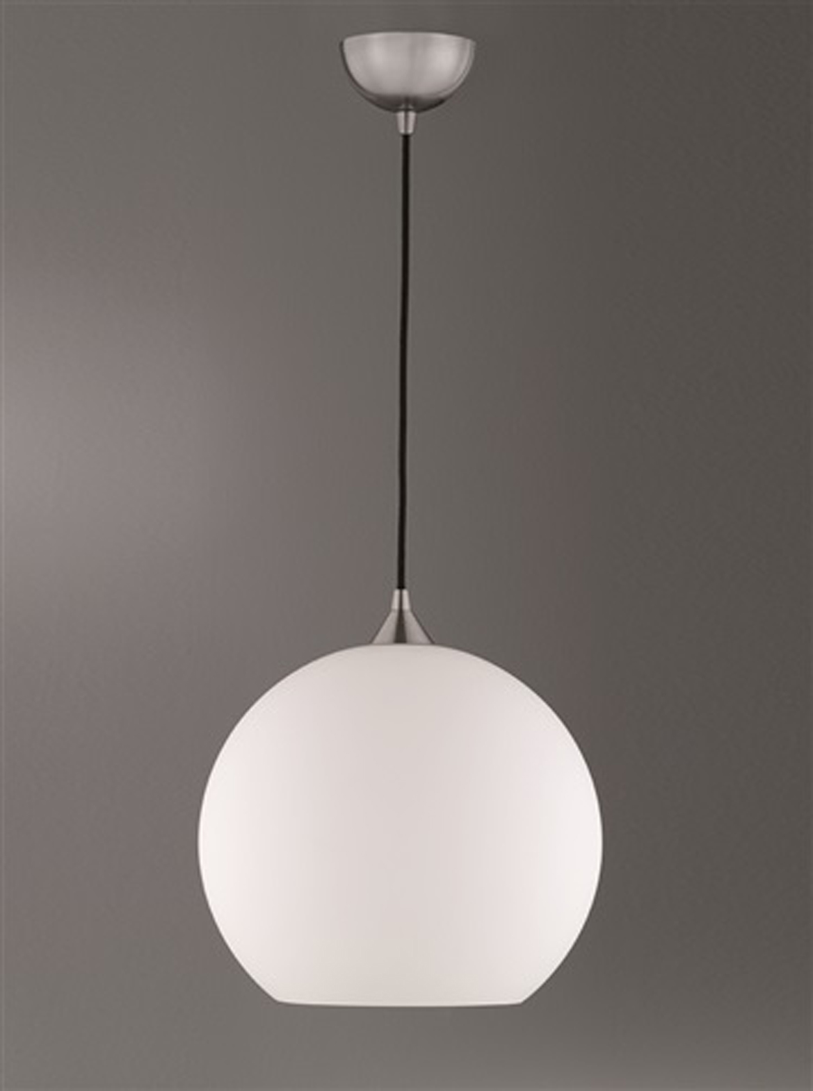 Franklite Vetross Ice 1 Light Ceiling Pendant Satin Nickel - FL2290/1/988