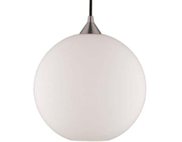 Franklite Vetross Ice 1 Light Ceiling Pendant Satin Nickel - FL2290/1/987
