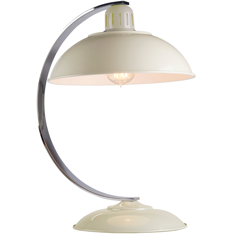 Elstead Franklin Retro Bureau Desk Lamp, Cream Finish - FRANKLIN CREAM