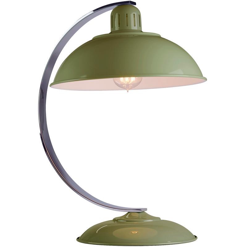Elstead Franklin Retro Bureau Desk Lamp Red Finish