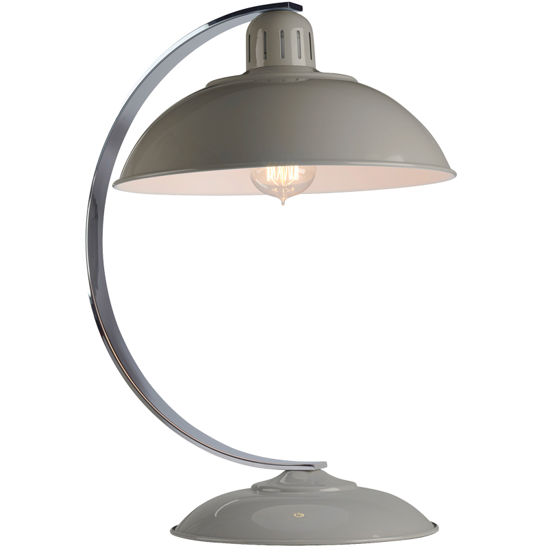 Elstead Franklin Retro Bureau Desk Lamp, Grey Finish - FRANKLIN GREY