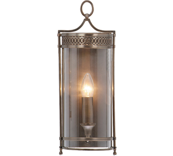 Elstead Guildhall Period Dark Bronze Wall Light - GH/WBDB