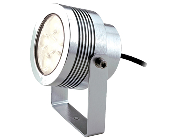 Elstead Elite 5 LED Medium Sized Plug & Go 12v Wall/Pole Fitting, Anodised Aluminium - GZ/ELITE5