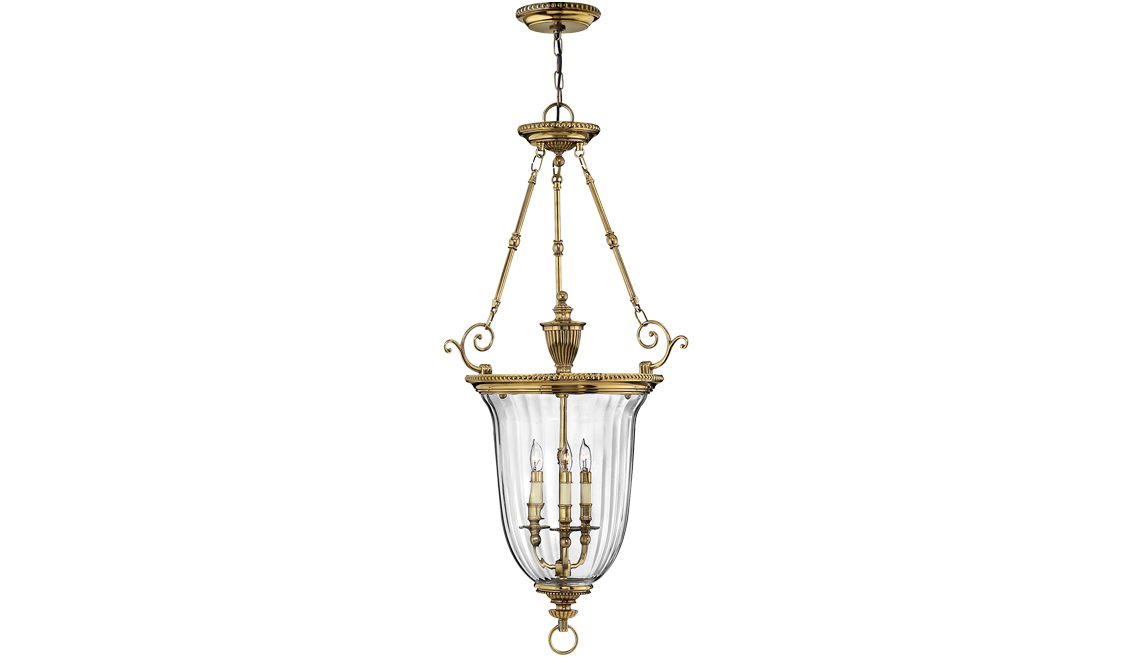 elstead hinkley cambridge large ceiling pendant
