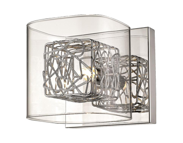 Huntington Park 1 Light Wall Light, Chrome Finish - ITL10100