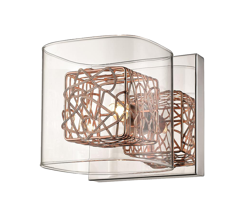 Huntington Park 1 Light Wall Light, Copper Finish - SALE-ITL10101 Special Offer