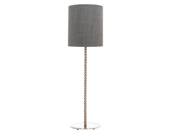 Elstead Bubble Table Lamp, Polished Nickel Finish, Base Only   HQ/BUBBLETL