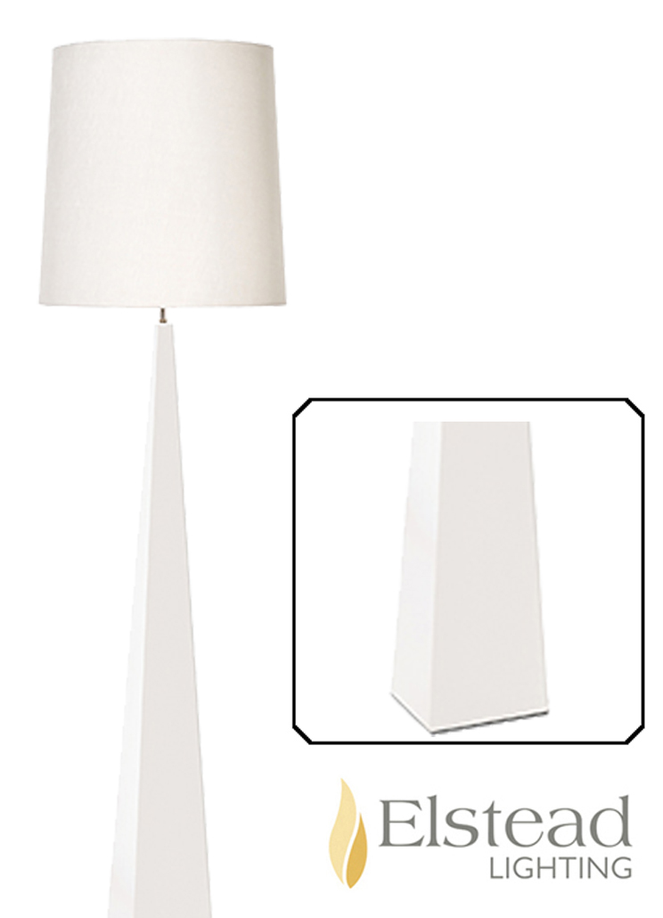 elstead u0027ascent whiteu0027 floor lamp none