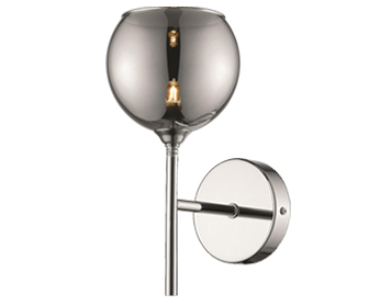 Pasadena 1 Light Wall Light, Chrome Finish - ITL10167
