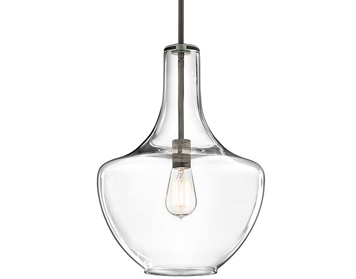 Elstead Hinkley Everly 1 Light Medium Pendant, Olde Bronze Finish - KL/EVERLY/P/M OZ