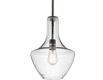 Elstead Hinkley Everly 1 Light Small Pendant, Olde Bronze Finish - KL/EVERLY/P/S OZ