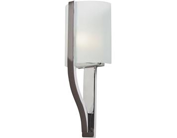 Elstead Kichler Freeport 1 Light Bathroom Wall Light, Polished Chrome Finish - KL/FREEPORT BATH