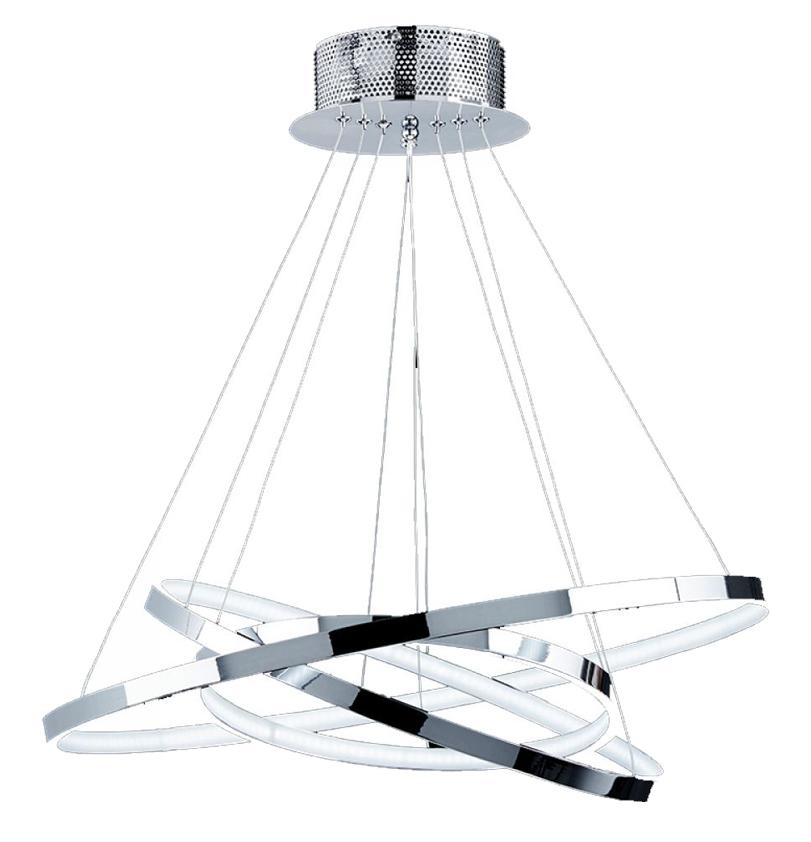 Endon kline led pendant ceiling light fixture polished chrome endon kline led lit pendant ceiling light polished chrome kline 3ch aloadofball Gallery