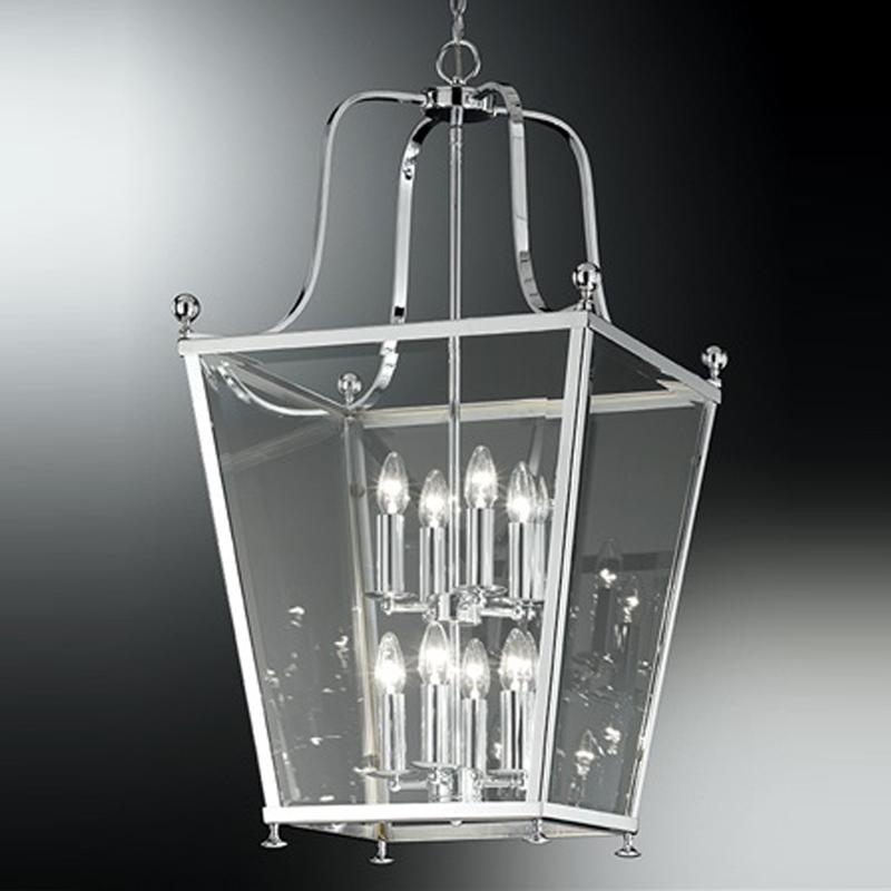 Franklite atrio large 4 light chrome lantern pendant ceiling franklite atrio 8 light chrome lantern pendant ceiling fitting la70038 aloadofball Images