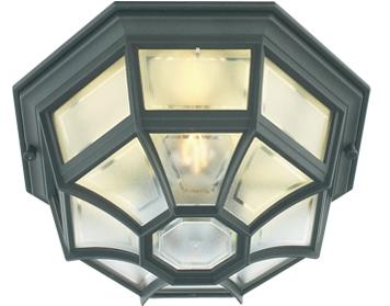 Porch lanterns and ceiling lights from easy lighting elstead norlys latina 1 light wallporch ceiling light black finish la8 black aloadofball Gallery