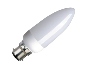 11w BC/B22 Low Energy Candle Bulb - LYV3096