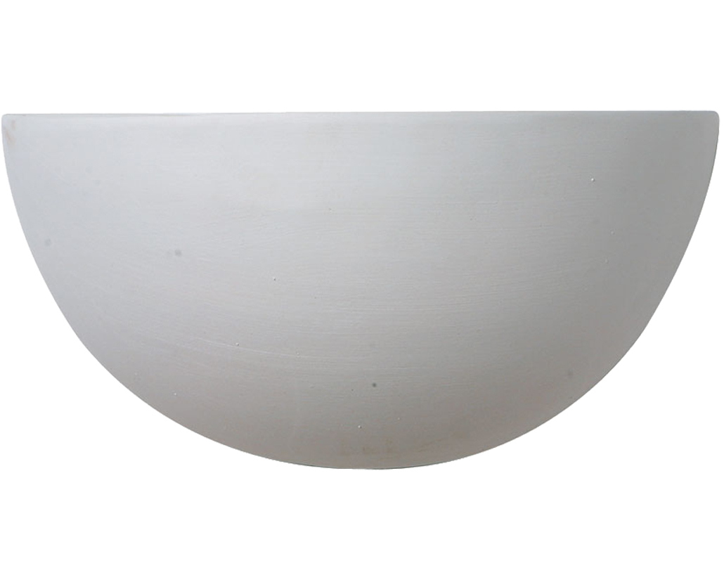 Paintable Unglazed Ceramic And Plaster Wall lights from ...