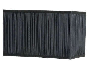 Black Rectangular Lamp Shades: 14