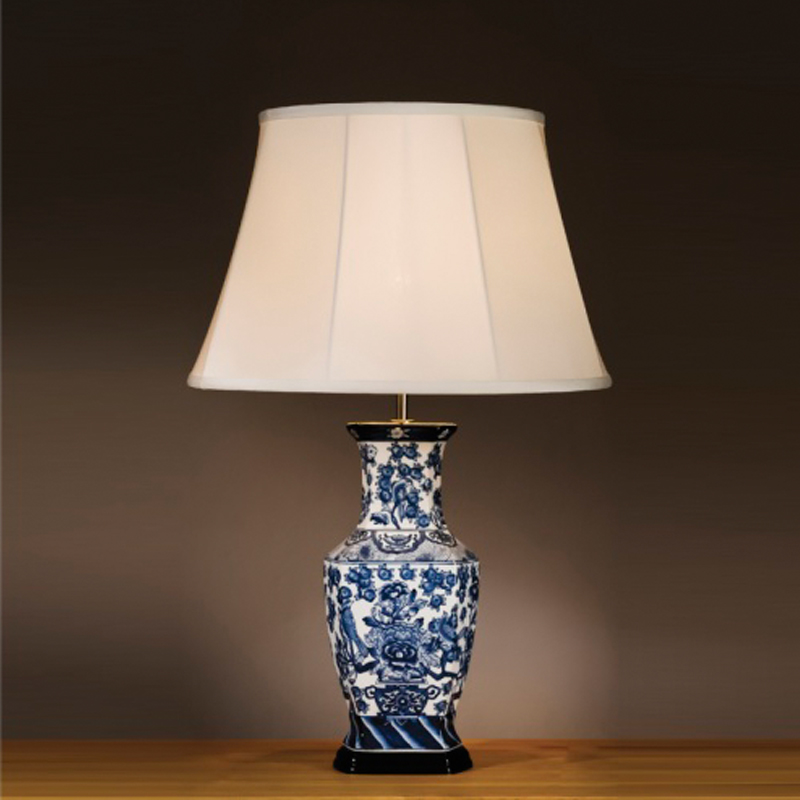 ceramic and porcelain table lamps from easy lighting. Black Bedroom Furniture Sets. Home Design Ideas