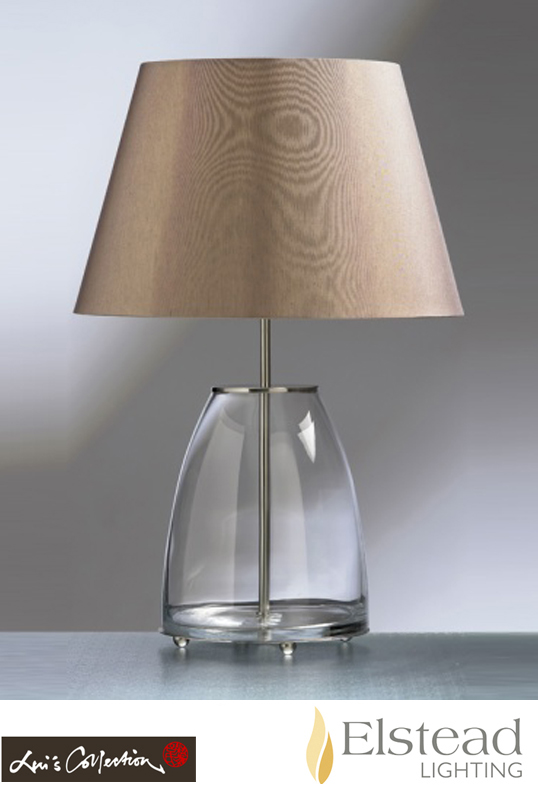 Elstead round glass table lamp luiroundglass from easy lighting elstead round glass table lamp luiroundglass none aloadofball Image collections