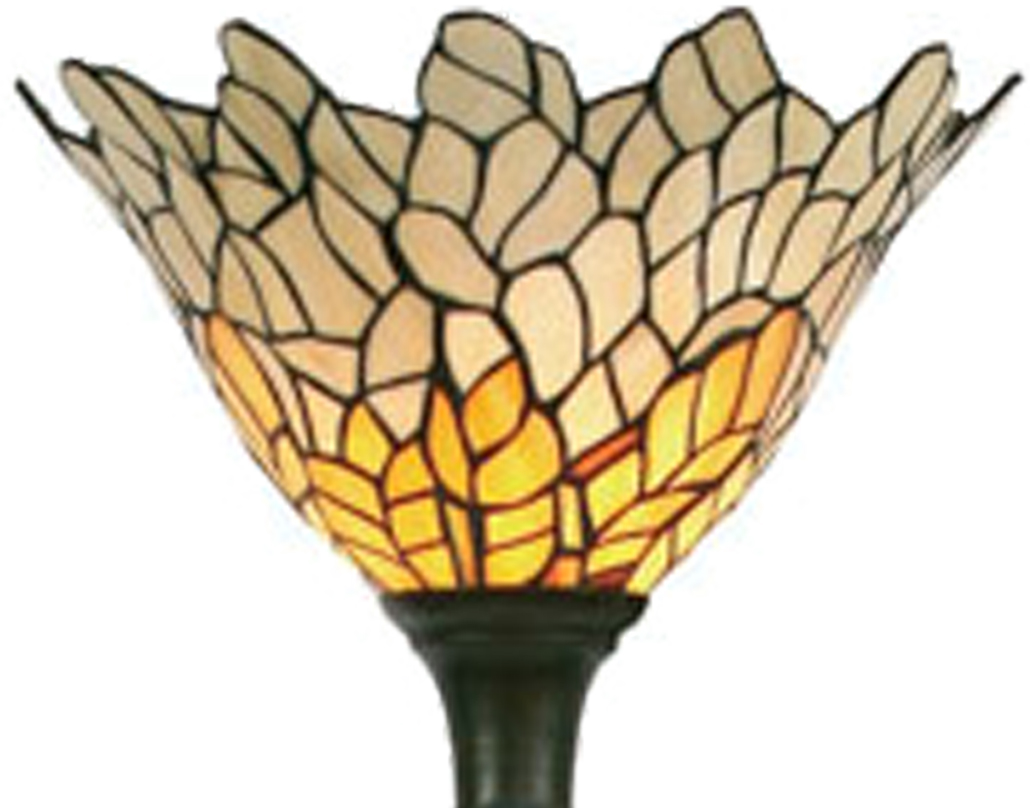 Oaks Lighting 'Titania' Tiffany Floor Lamp - OT 1302 FL