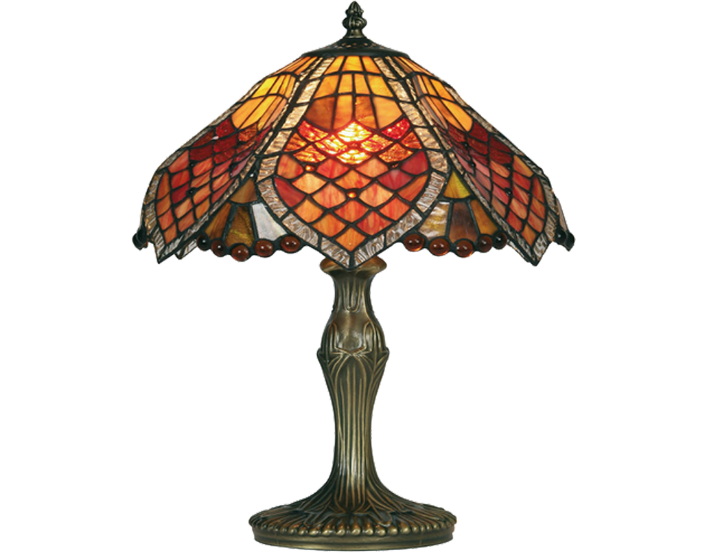 Oaks Lighting Orsino Tiffany Table Lamp - OT 1318/12 TL