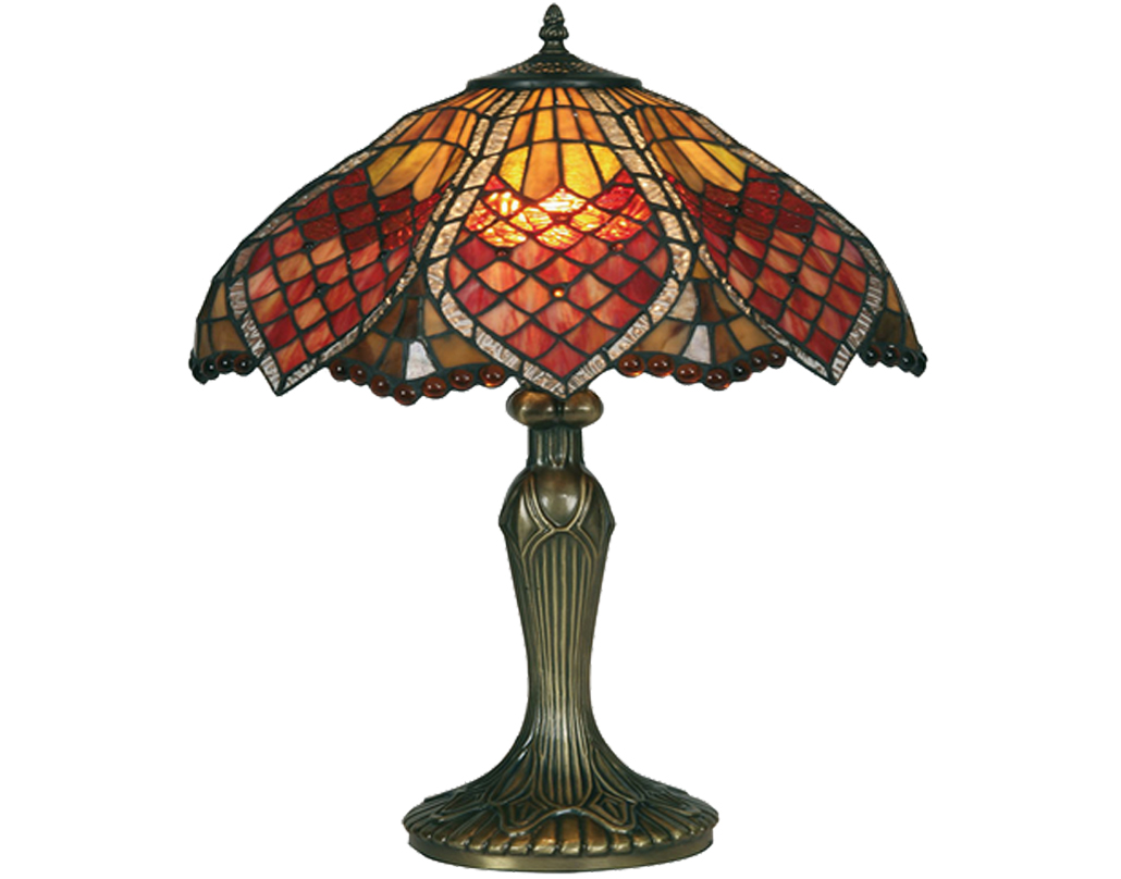 Oaks Lighting Orsino Tiffany Table Lamp - OT 1318/16 TL