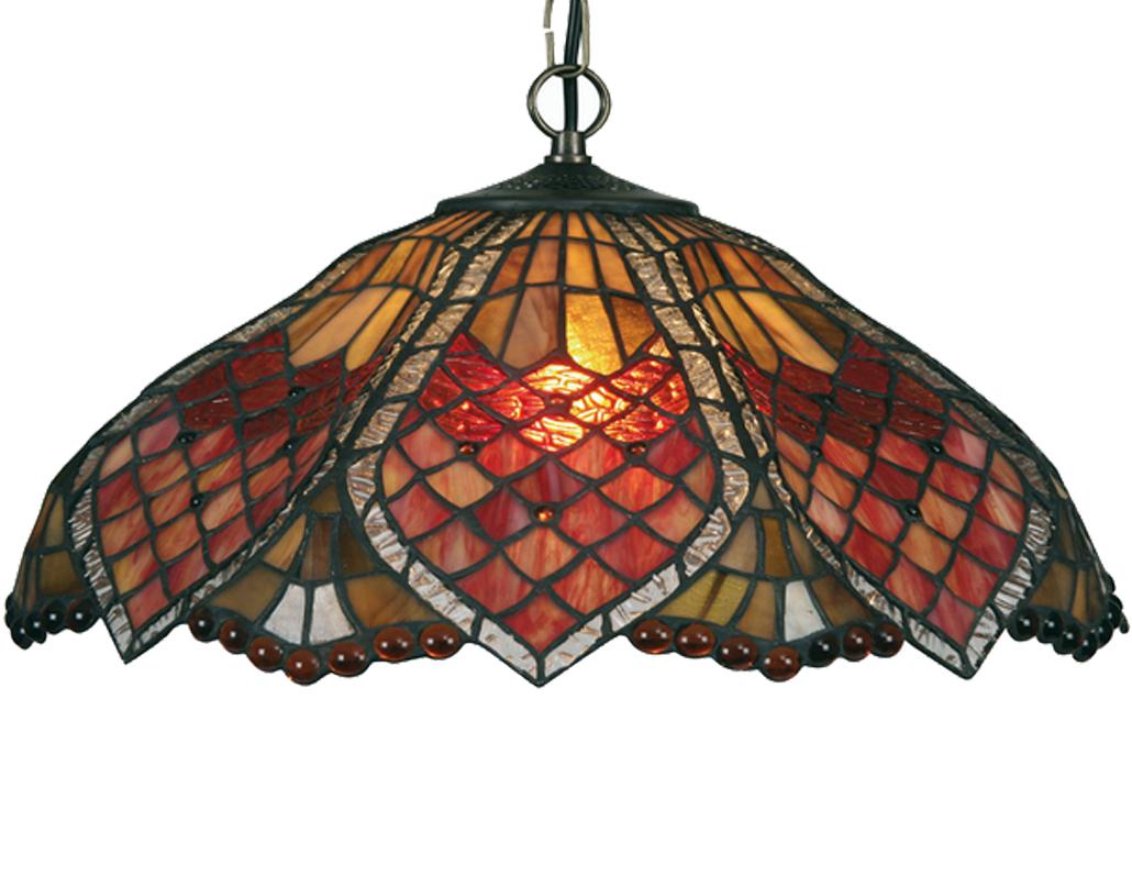 Tiffany ceiling lights from easy lighting oaks lighting orsino tiffany ceiling light ot 131820 p aloadofball Gallery