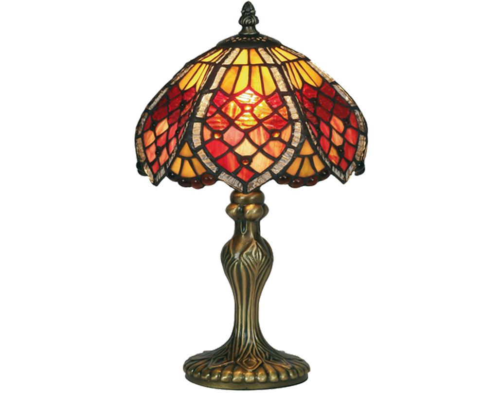 Oaks Lighting Orsino Tiffany Table Lamp - OT 1318/8 TL